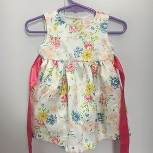 Chaps 6mo floral baby dress